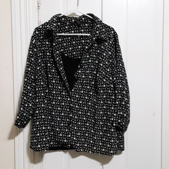 George Tops - george button down top